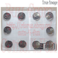 2013 War of 1812 Laura Secord 25-cent Quarters Circulation 10 Coin Pack Canada