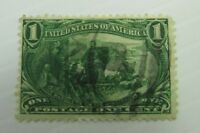 1898 United States of America SC #285 MARQUETTE ON THE MISSISSIPPI used stamp