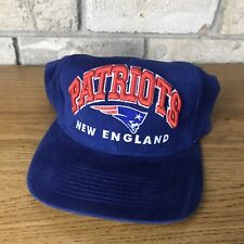 Vintage Early 2000s New England Patriots NFL Football Snapback Hat Cap Bold Rare