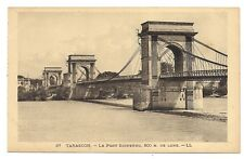 tarascon le pont suspendu
