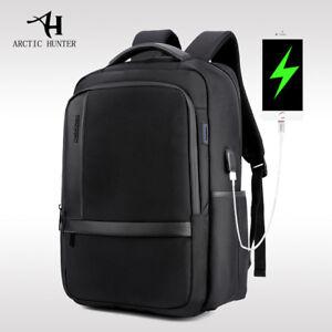 ARCTIC HUNTER Waterproof 15.6 Laptop Backpack Computer Bag+USB Port. Mochila