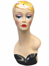 Mannequin Head Bust Wig Hat Jewelry Display #VF005