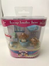 Monkey Teacup Families Twins Brown Blue Cups Bottle Machichi New Package