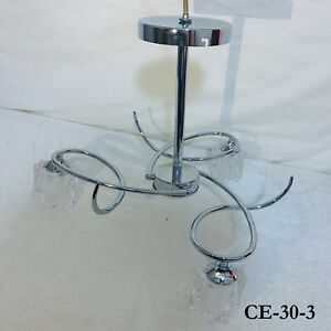 Beautiful Modern Ceiling Chandelier Pendant Light Lamp Crystal Drop G9 Bulb UK