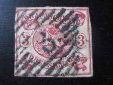 BRAUNSCHWEIG BRUNSWICK GERMAN STATES Mi. #12 scarce used stamp! CV $335.00