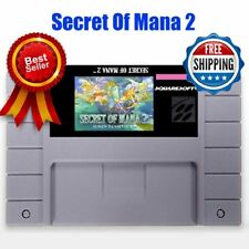 Secret of mana 2 SNES Super Nintendo Video Game USA Version