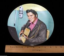 "ELVIS PRESLEY 1989 Collectible Limited Edition ""A Studio Session"" Plate #6"