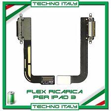 FLAT FLEX CONNETTORE DI RICARICA DOCK CARICA DOCKING PER APPLE IPAD 3