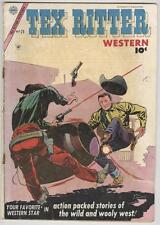 Tex Ritter #25 October 1954 – Double cover!