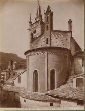 SUSA (Torino). La Cattedrale. Foto fine 1800