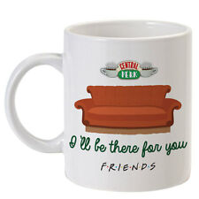 "Tazza serie tv Friends inspired, ""Central Perk"", I'll be there for you, divano!"