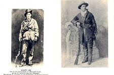 TWO COPY PHOTOS OF CALAMITY JANE OF DEADWOOD