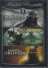 Multi Feature Cyclops,Sands of Oblivion,Lost Treasure of the Grand Canyon DVD