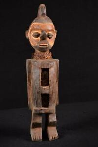 17848 Afrikanische Alte Yaka Figur / Figure DR Kongo