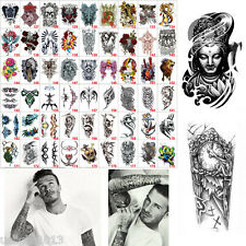 Fashion Arm Body Art Temporary Tattoo Sticker Waterproof Removable Tattoo Sticke