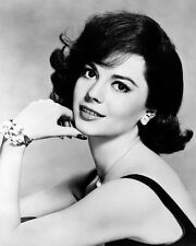 NATALIE WOOD CLASSIC GLAMOUR POSE 8X10 B&W PHOTO