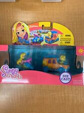 NICKELODEON SUNNY DAY HAIRDRYER SCOOTER & DOODLE-MOBILE DIE CAST VEHICLE, 2 PACK