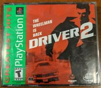 Driver 2 PS1 (Sony PlayStation 1, 2000) Complete 2 disks tested