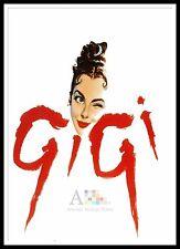Gigi 3    Movie Posters Musicals Vintage & Classic Cinema