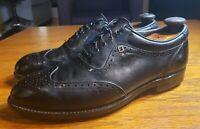 Vintage Black Footjoy Classics Dry Premiere Golf Shoes Men's 9 D Style 56903