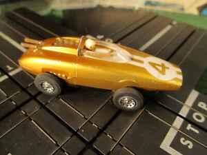 NMINT VINTAGE TYCO S Candy Lotus T Jet Race Track Set Slot Car