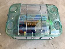 Hamster Cage Used Great Cage For Dwarf Hamsters! Lots Of Accessories.