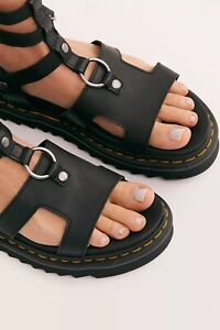 Dr Martens Adaira Womens Gladiator Sandal Black Size US6 M EUR37 brand new