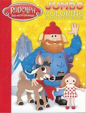 Rudolph the Red-Nosed Reindeer Coloring Book ~ Yukon Cornelius