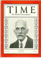 Magazine TIME   Andrew W. Mellon | May 28, 1928