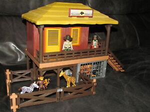 Playmobil Wildtierpflegestation mit Fregehege 4826