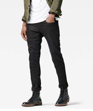 G-STAR Raw Slim Stretch Mens Black Jeans UK Size W30 L30 *REF102
