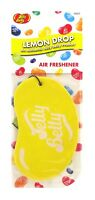 Jelly Belly Bean 2D Car Home Hanging Air Freshener LEMON DROP * NEW SEALED *