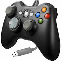 For Microsoft Xbox 360 / PC / Windows 10 8 7 USB Game Controller Gamepad Wired