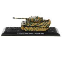 1/72 WWII Diecast PzKw VI Tiger Ausf.E-Kypck 1943 German Tank Armor Model