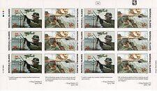 Marshall Islands 1990 World War 2 WW II Scott 246-7 Denmark Norway Sheet W5 NH