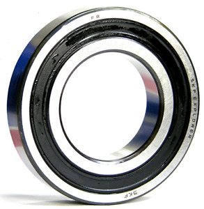 SKF 619082RZ Thin Deep Groove Ball Bearing 2 Low Friction Seals 40x62x12mm