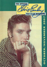 OFFICIAL ELVIS PRESLEY FAN CLUN MAGAZINE 2007 OCTOBER/NOVEMBER