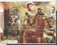 GÉNÉRAL DE GAULLE Kirgistan 1 bloc postes locales de 1999 **