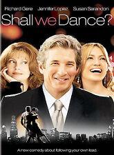 Shall We Dance (DVD, 2005, Full Screen) NEW