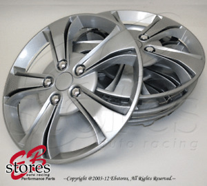 "4pcs Set of 17 inch Wheel Rim Skin Cover Hubcap Hub caps (17"" Inches Style#616)"