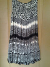 Viscose Full Length Skirts Size Tall for Women