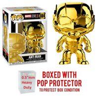 "Pop Marvel Studio 10 Years - ANT-MAN #384 Gold Chrome Vinyl w/Case ""MINT"""