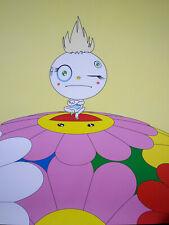 POP ART by Takashi Murakami  Wink 2001 Limited Edition Vanderbilt Hall NYC Rare