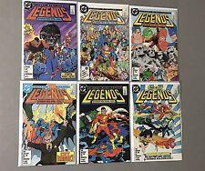 Legends 1 2 3 4 5 6 DC Comics Mini-Series VF/NM Suicide Squad