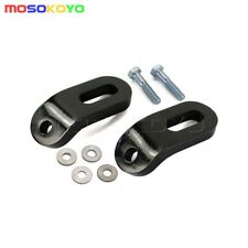 Motorcycle Black Touchless Tie-Down Steel Bracket Kit For Harley Touring Models