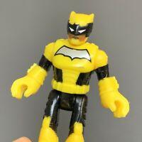 Fisher-Price Imaginext DC Comics Super Friends Yellow Batman Action Figure Toy