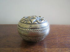 Antique Brass Incense Burner Base & Lid