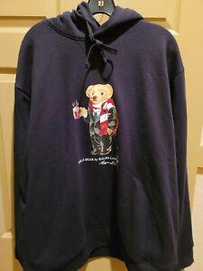 Polo ralph lauren bear hoodie Sweatshirt