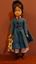 """1960's VINTAGE HORSMAN 12"""" MARY POPPINS DOLL W/ ACCESSORIES P-1"""