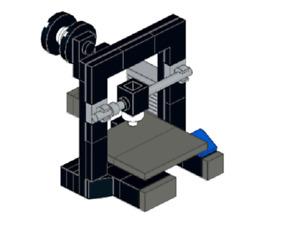 Lego MOC 3d printer (Ender 3) - Model PDF Instructions Manual